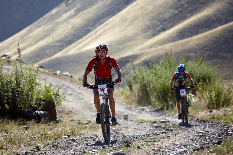 Download Adventure Mountain Bile Competition Editorial Image - Image of lifestyle, biking: 16469200