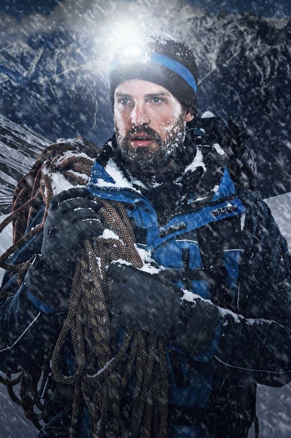 Free Adventure Mountain Man Stock Photo - 39243760