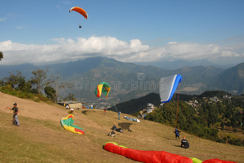 Adventure in Nepal royalty free stock photos