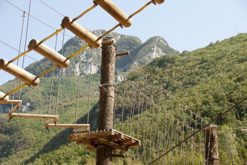 Adventure park royalty free stock photography