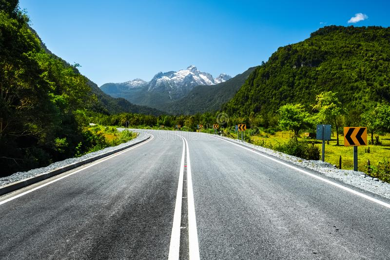 Adventure and scenic road royalty free stock photo