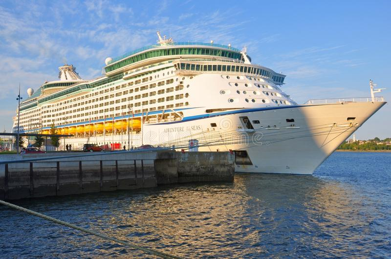 Adventure of the Seas cruise ship royalty free stock photography