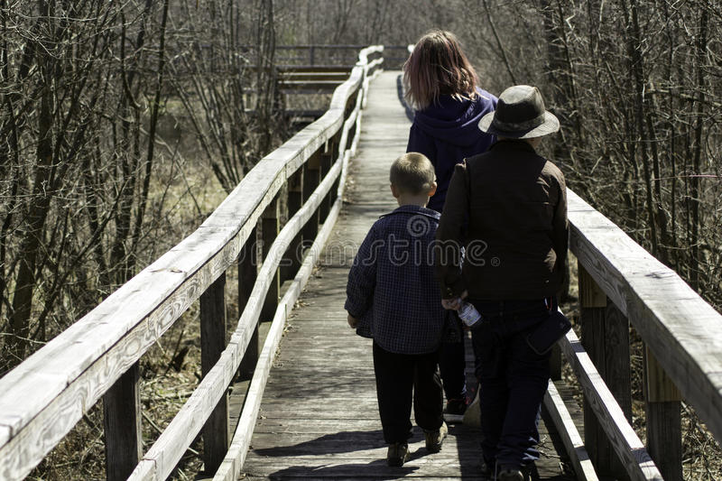 Download On An Adventure stock photo. Image of trees, three, children - 91340370