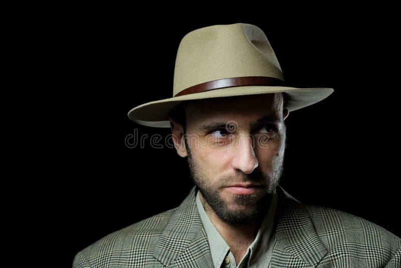 Download The adventurer stock photo. Image of smile, beard, tweed - 12789596