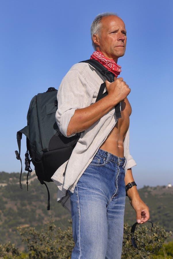 Download Adventurer stock image. Image of adventure, boulders, nature - 7487955