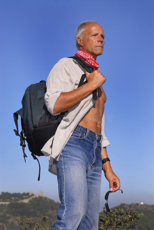 Download Adventurer stock image. Image of positive, nature, male - 8332509