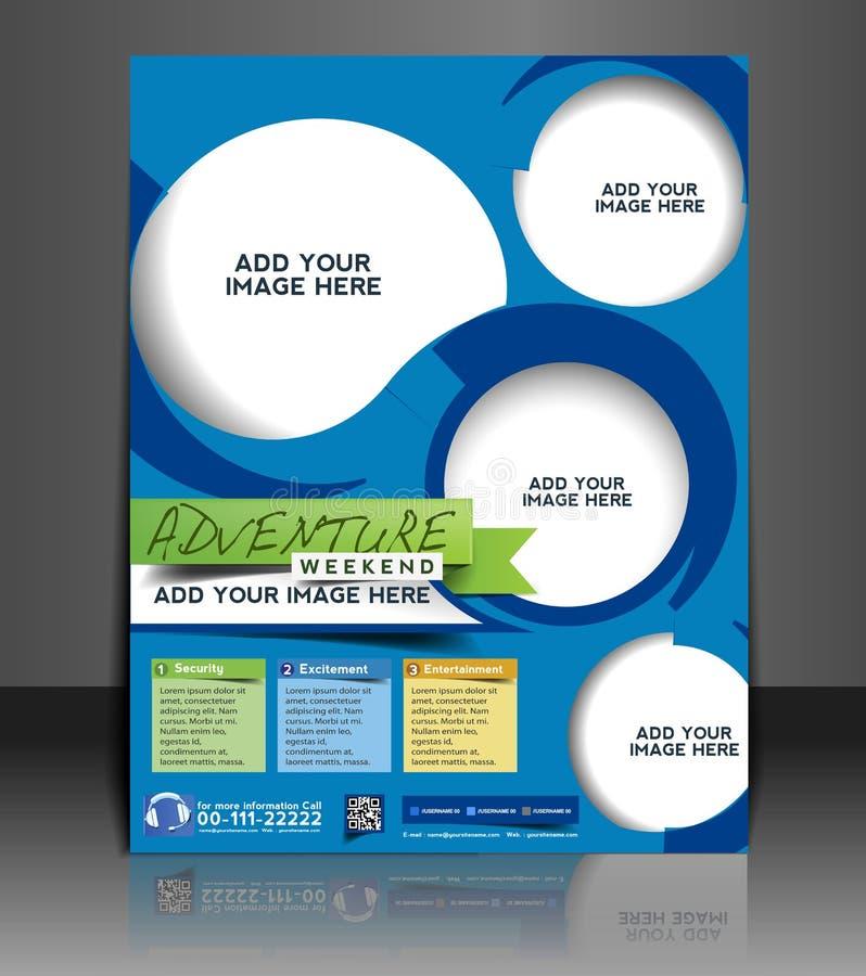 Free Adventurer Flyer Design Stock Images - 40824674