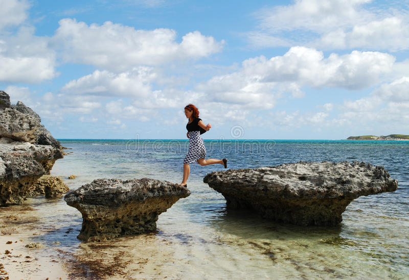 Adventurous Girl stock image