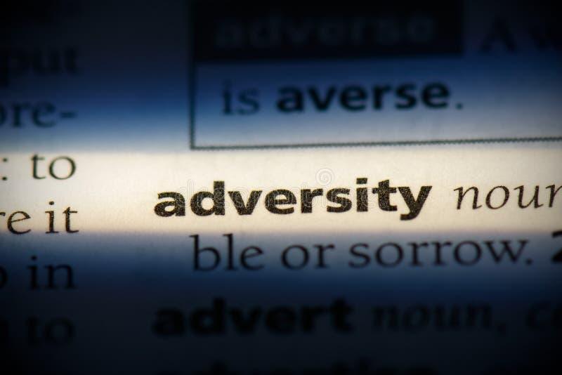 Adversidad foto de archivo libre de regalías