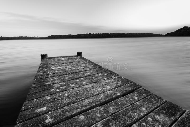 Adversity. A deck that withholds continuous adversity royalty free stock photo