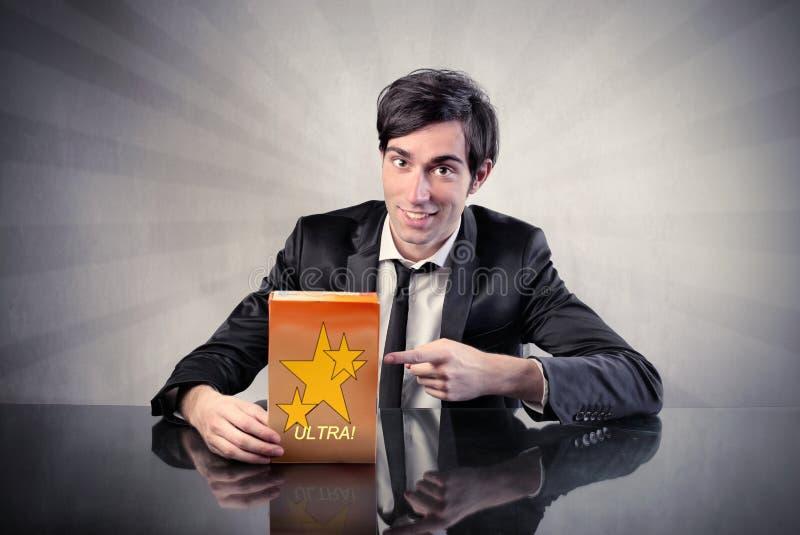 Adverteer royalty-vrije stock fotografie