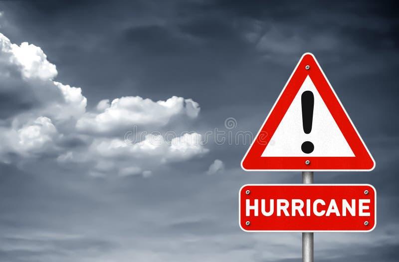 Advertencia del huracán libre illustration