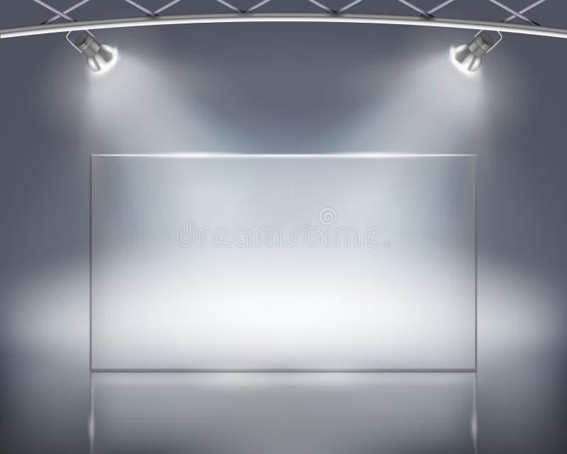 Adverterend aanplakbord vector illustratie