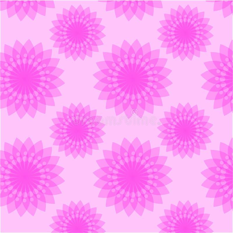 Adverterende grafische vector het patroonbloem van het ideeontwerp royalty-vrije stock afbeelding