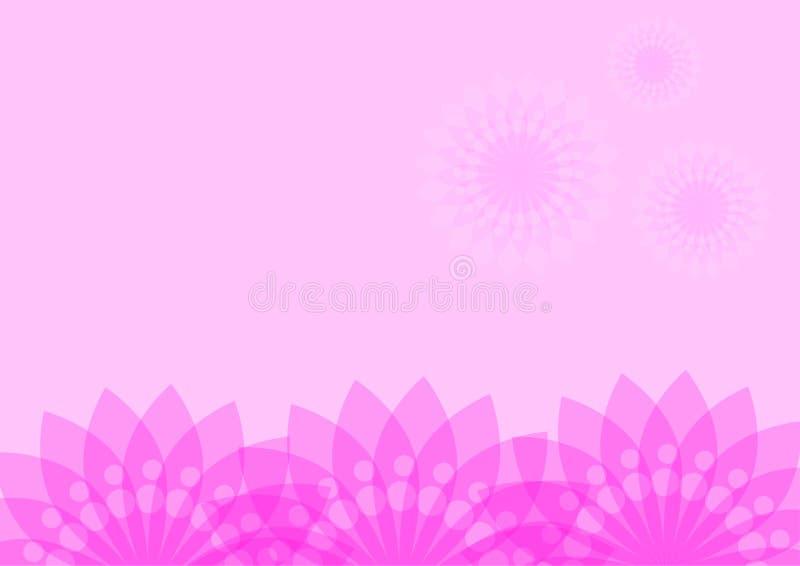 Adverterende grafische vector het patroonbloem van het ideeontwerp stock afbeeldingen