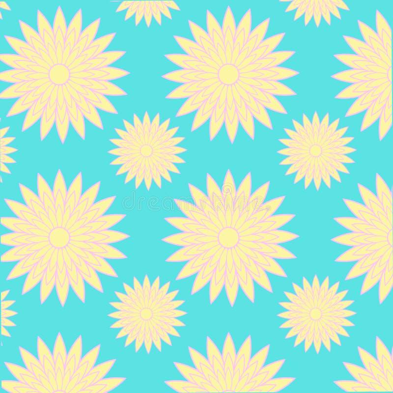 Adverterende grafische vector het patroonbloem van het ideeontwerp royalty-vrije stock fotografie