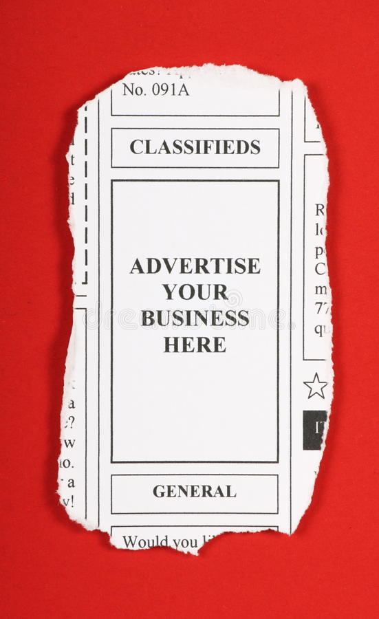 Advertise Your Business Here royalty free stock images