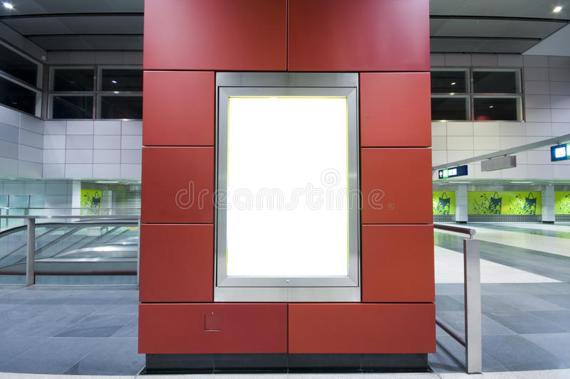 Download Advertisement blank stock photo. Image of business, board - 14212548