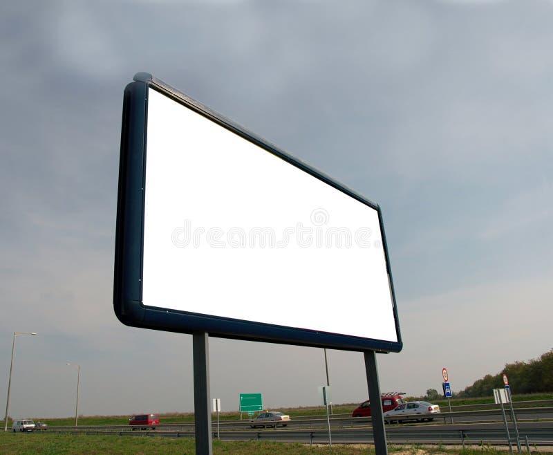 Advertisement board stock photography