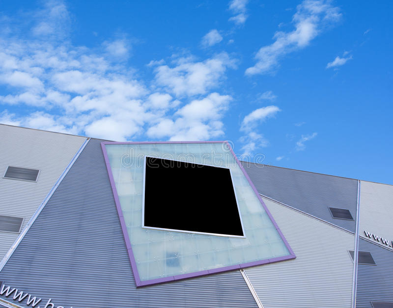 Download Advertising Billboard In The Building Stock Photo - Image: 15683376
