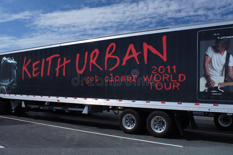 Advertising Keith Urban 2011 World Tour