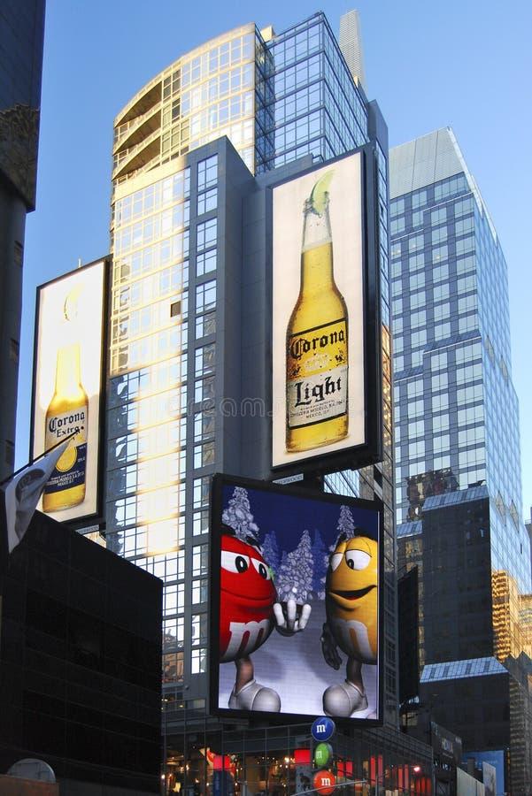 Download Advertising Screens, New York Editorial Stock Image - Image: 27906899