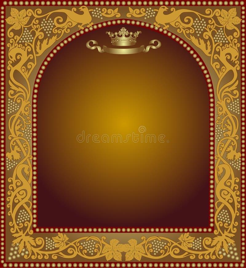 Download Advertising Slavonik Frame Beer Icon Stock Vector - Image: 18195478