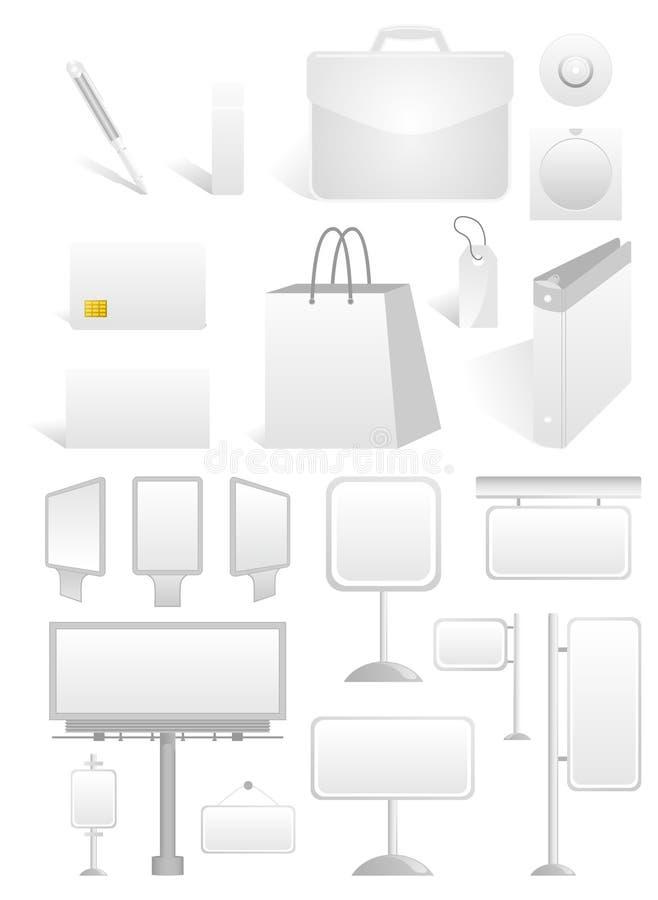 Advertizing6 ilustração do vetor