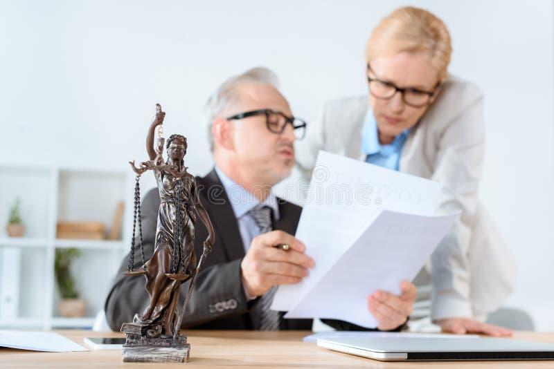 advocaten stock foto