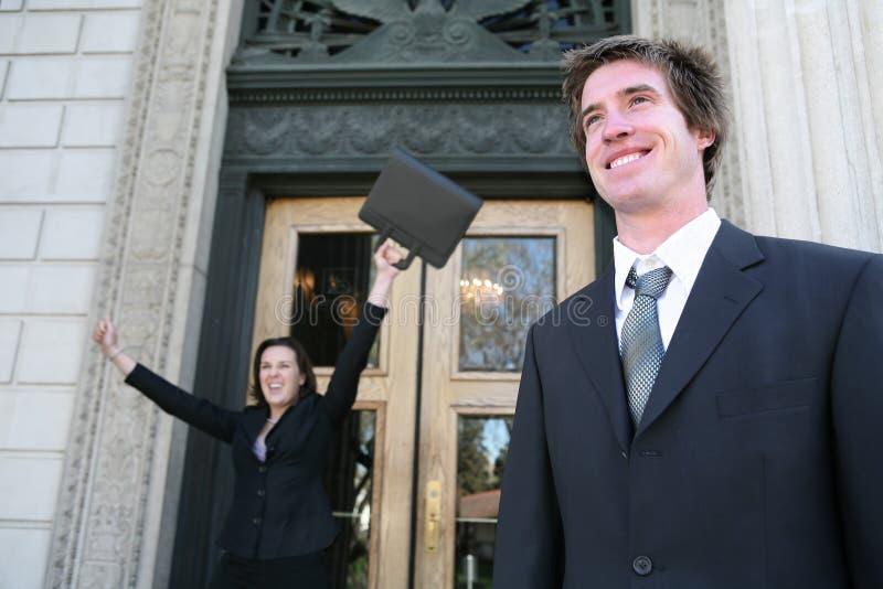 Advocaten bij Hof royalty-vrije stock afbeelding