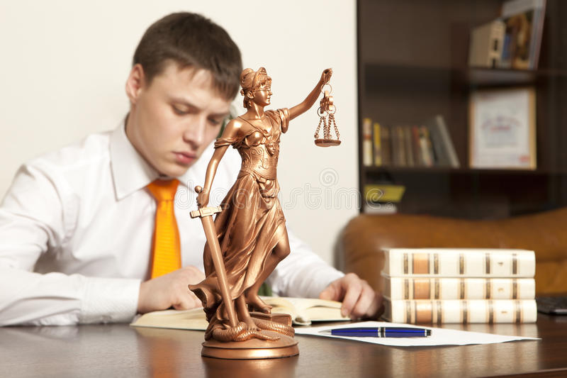 Advogado fotografia de stock