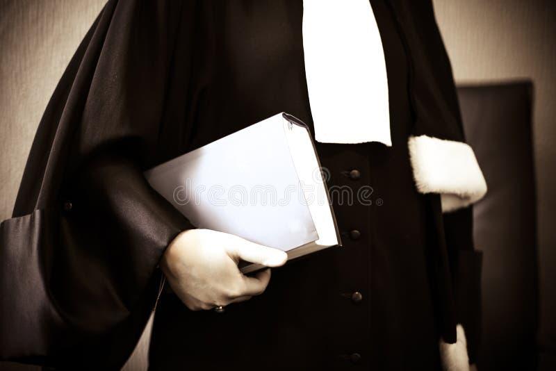 Advogado da mulher fotografia de stock