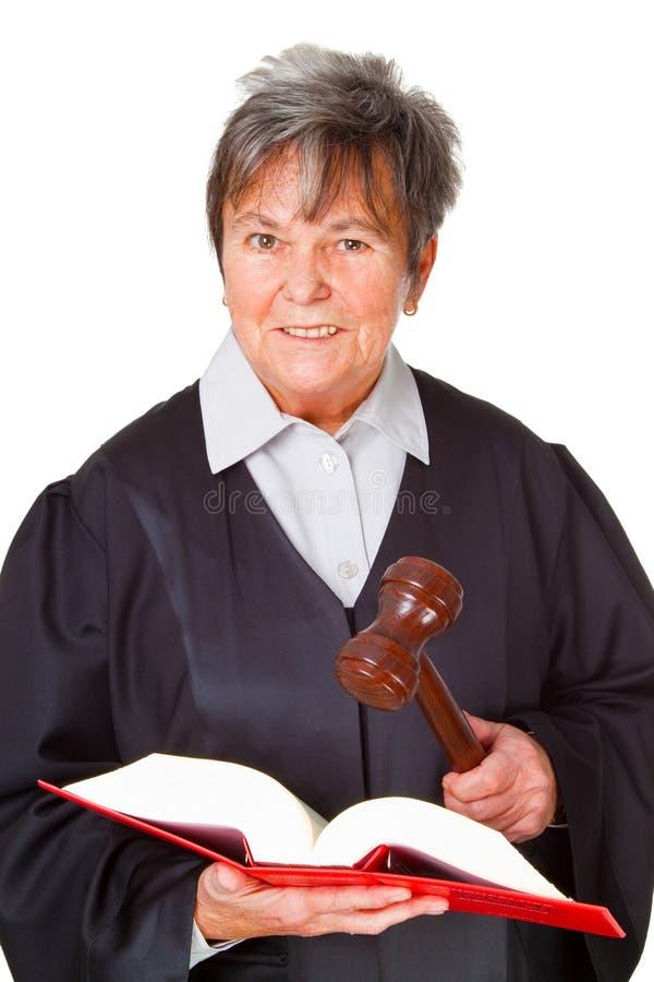Advogado fêmea imagem de stock