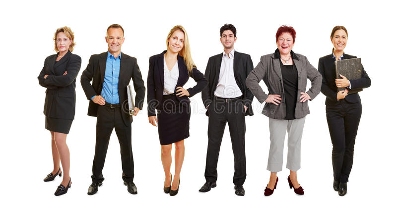 Advogados que estão junto em equipe imagem de stock