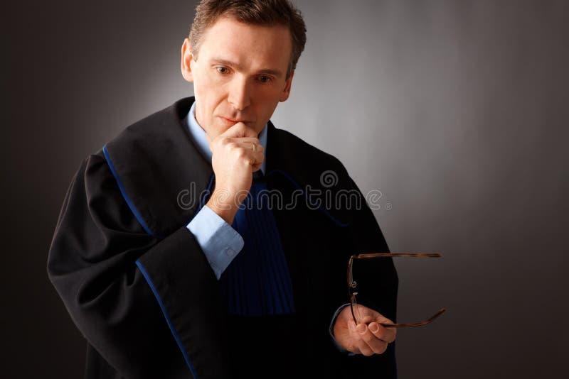 advokat royaltyfria bilder