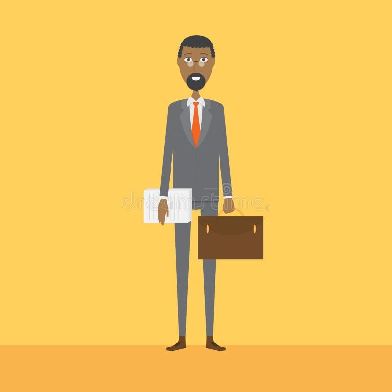 Advokattecken stock illustrationer