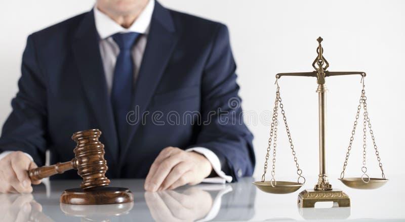 adwokat przy prawa pojęciem Miejsce dla typografii zdjęcie royalty free