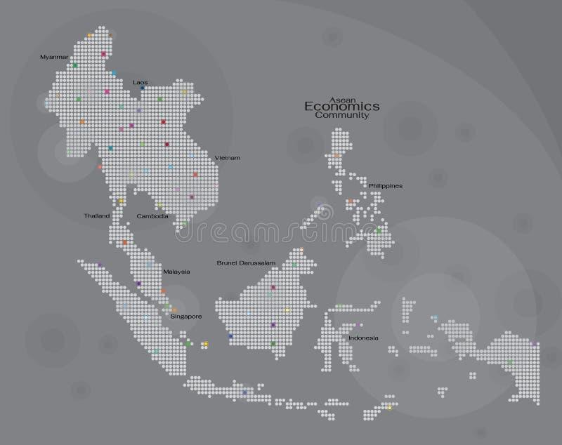 Aec kartografuje ilustracji