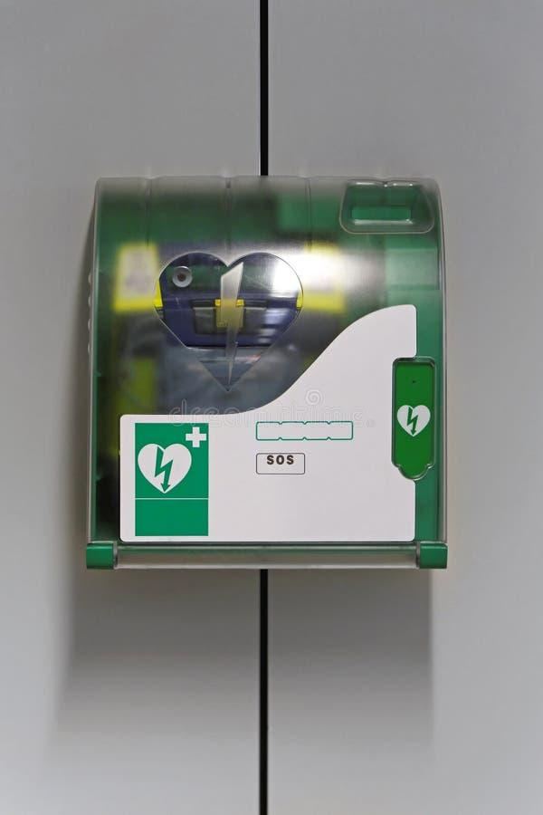 AED fotografia stock