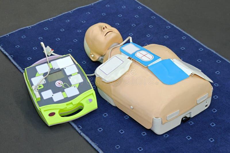 AED atrapa zdjęcia stock