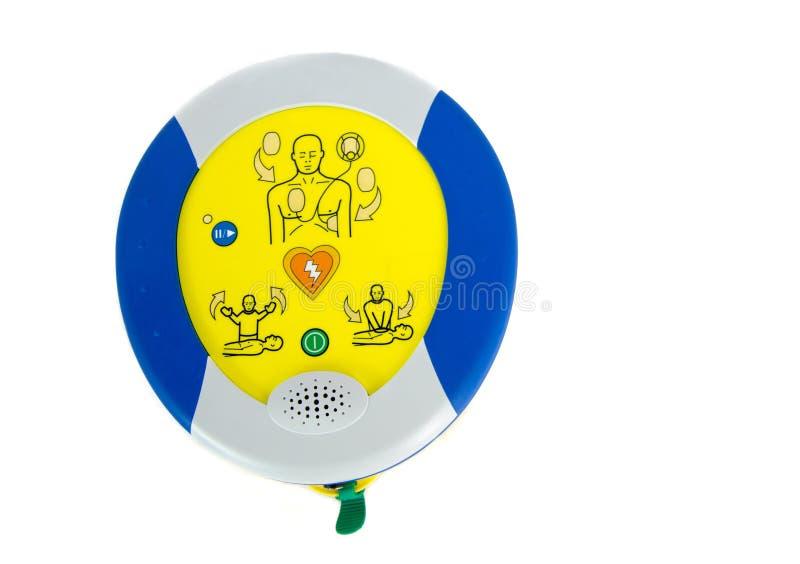 aed automatyzujący defibrillator external zdjęcie stock