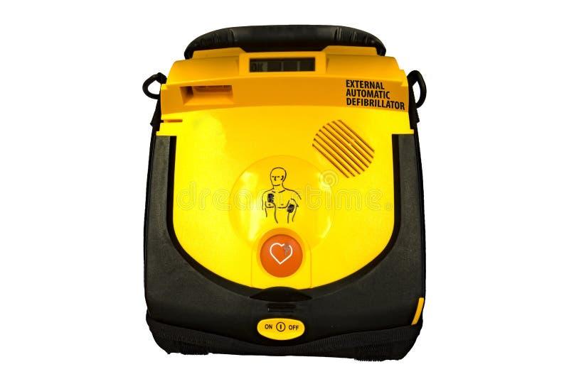 aed automatyzujący defibrillator external zdjęcie royalty free