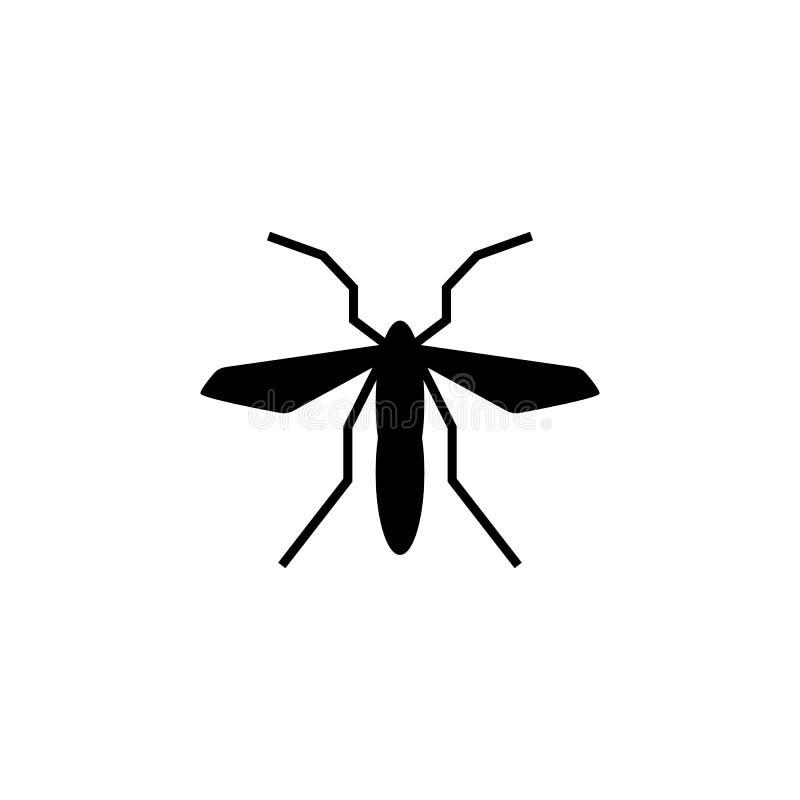 Aedes, knokkelkoorts, teken, zikapictogram Element van aedes mug en knokkelkoortspictogram Grafisch het ontwerppictogram van de p vector illustratie