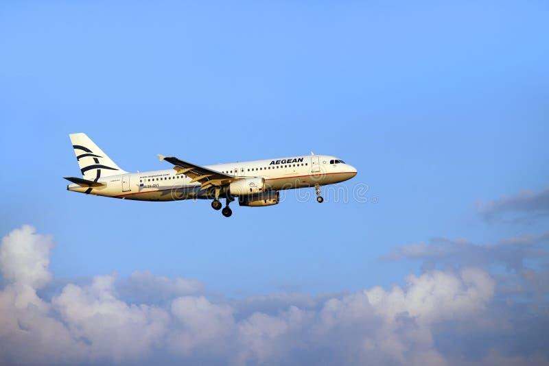 Aegean Airlines imagens de stock