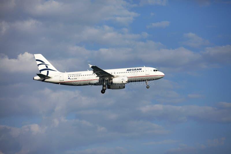 Aegean Airlines foto de stock royalty free