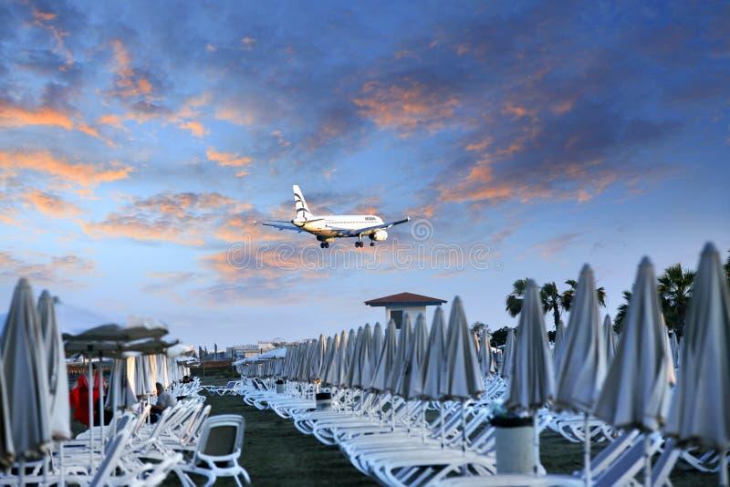 Aegean Airlines fotografia de stock