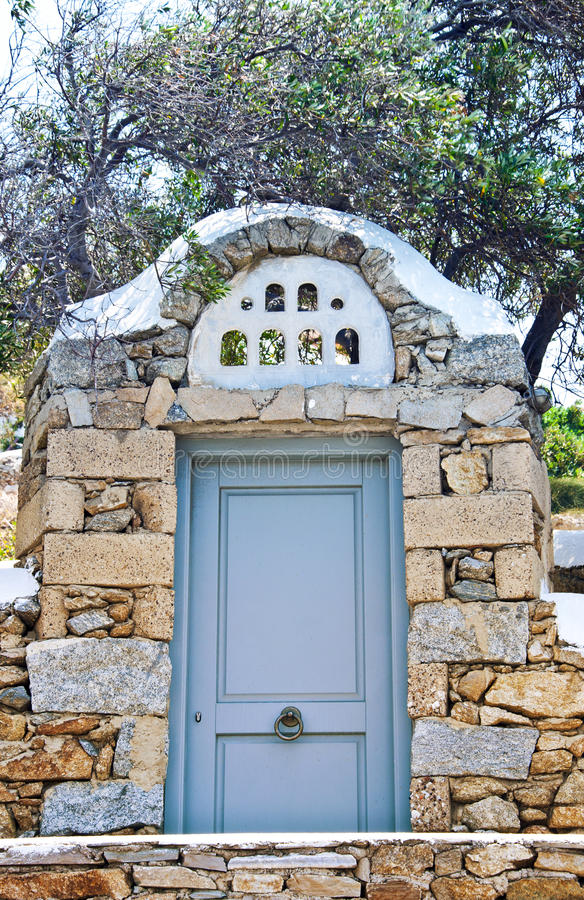 Aegean Architecture Royalty Free Stock Photo