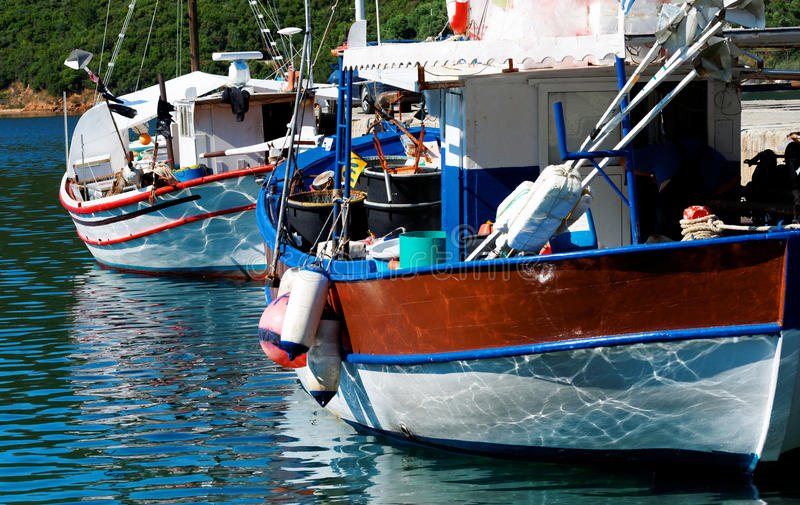 Download Aegean harbour stock photo. Image of boat, beach, fishing - 14630940