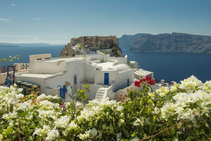 Aegean Island Santorini Stock Photos