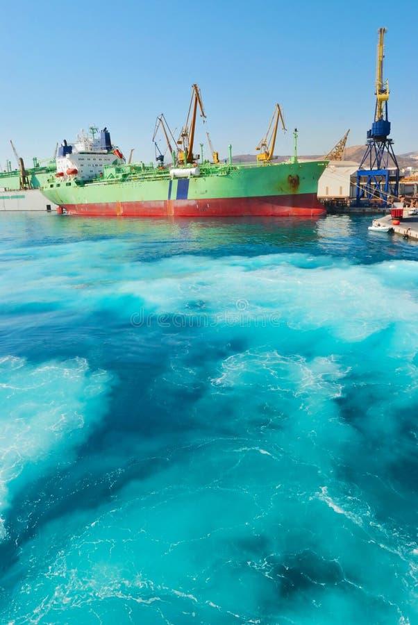 Download Aegean port stock image. Image of harbour, destinations - 18397995